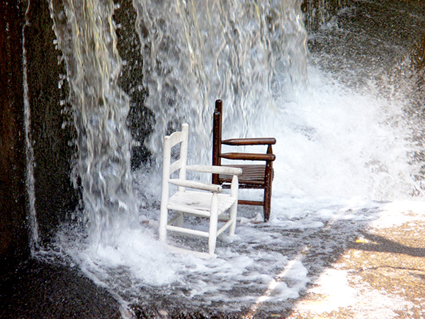 Easy Chairs on a Hot, Summer Day by Carl LaVO. This photo was the winner of DRBC's Summer 2019 Delaware Basin Photo Contest.