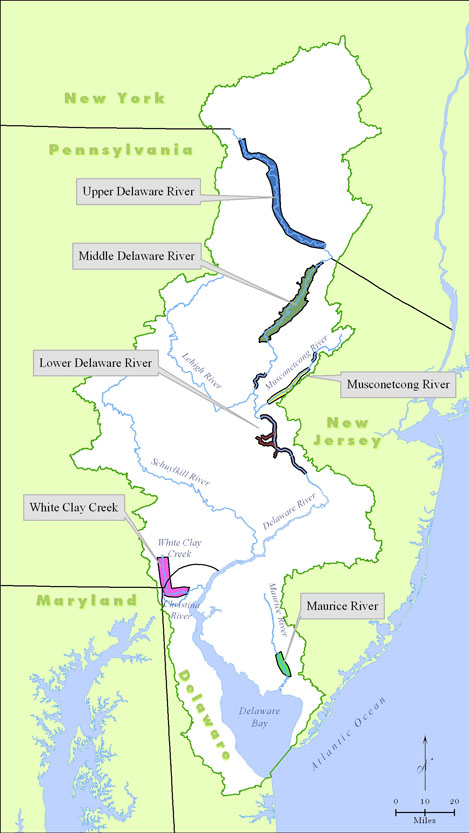 Delaware River Basin Commission National Wild and Scenic Rivers