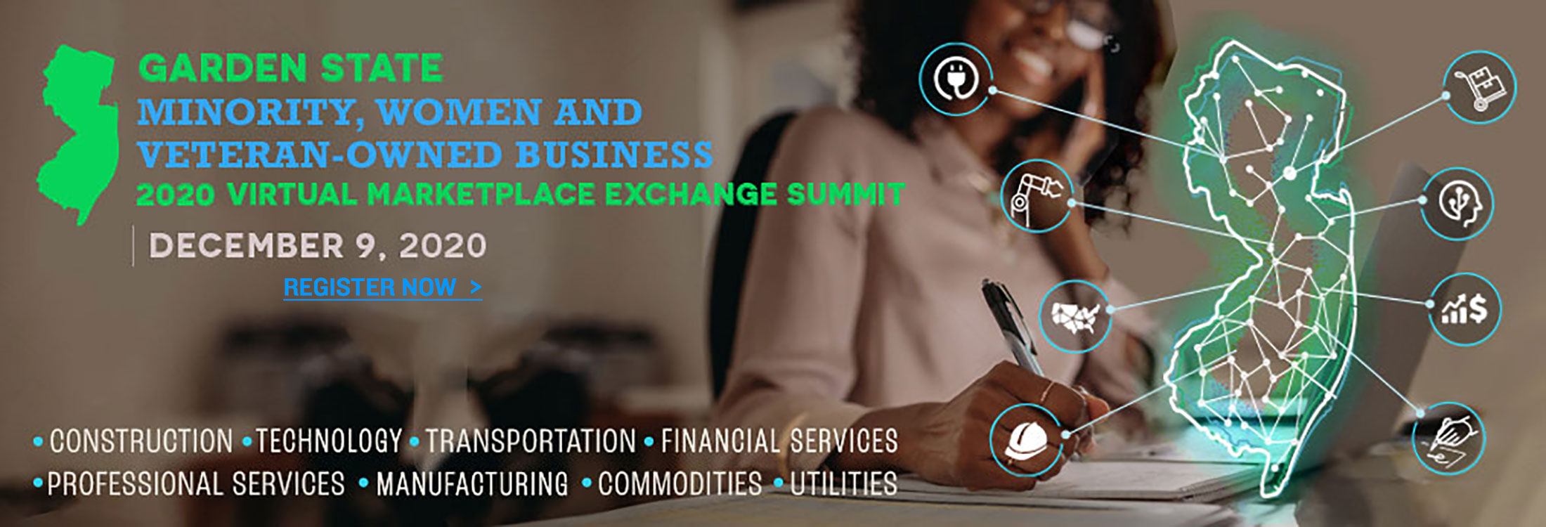 2020 Garden State Marketplace Exchange Virtual Summit on December 9th - Click to Register