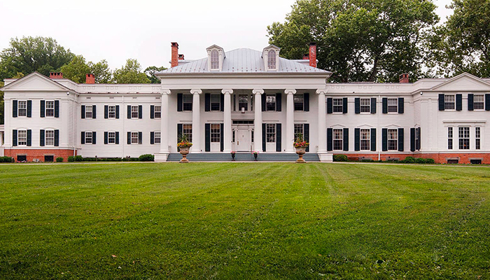 Photo of Drumthwacket - NJ governor's mansion