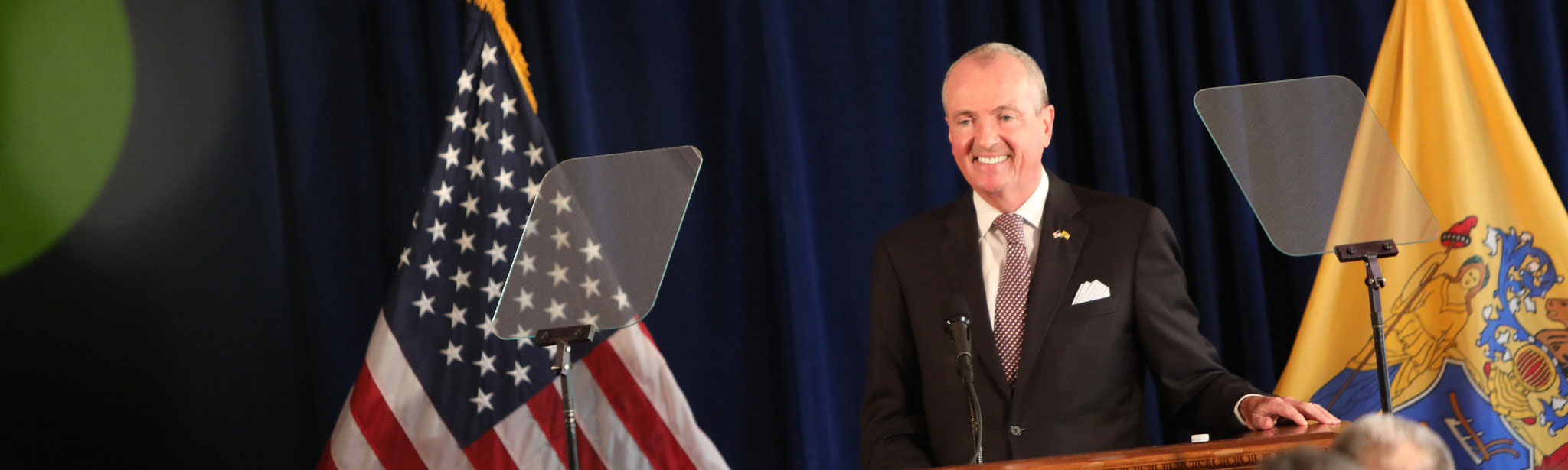 Governor Phil Murphy announces he will be signing the FY2020 budget