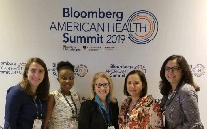 Photo: NJ Health Commissioner at Bloomberg American Health Summit