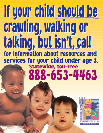 Early Intervention Services Poster
