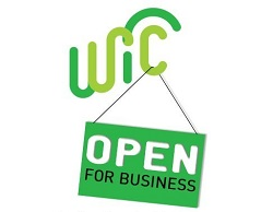 WIC Open for Business