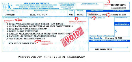 New look for WIC Checks