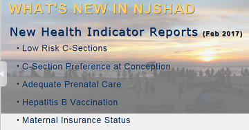 New Jersey State Health Assessment Data (NJSHAD)