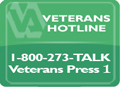 Veterans Suicide Prevention Lifeline 1-800-273-TALK (8255)
