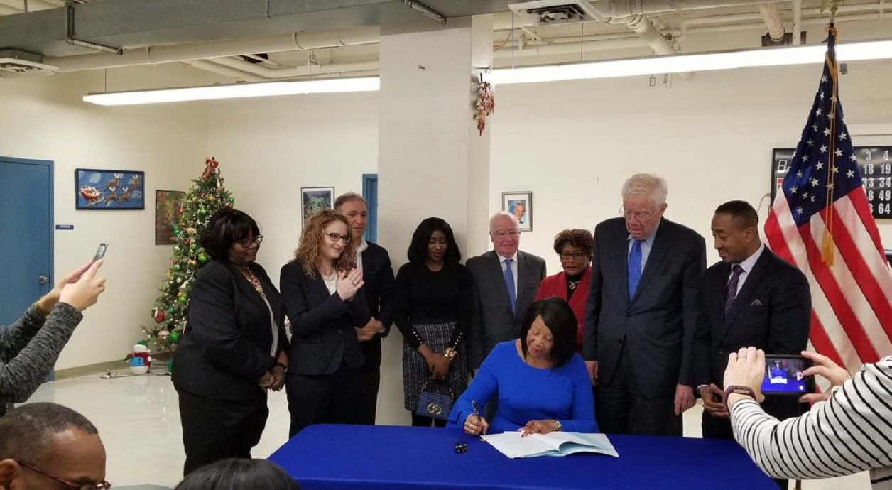 Acting Governor Oliver Signs Legislation to Establish the New Jersey Caregiver Task Force