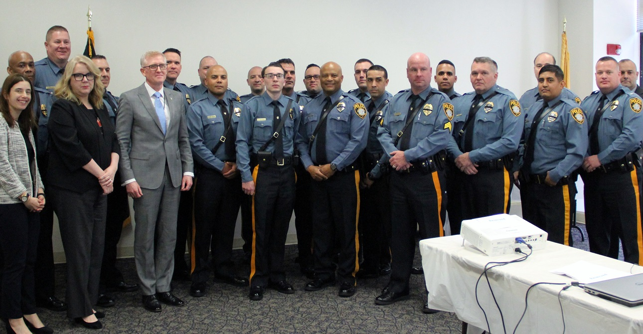 New Jersey Human Services Honors the Department's Police Officers as Part of National Police Week