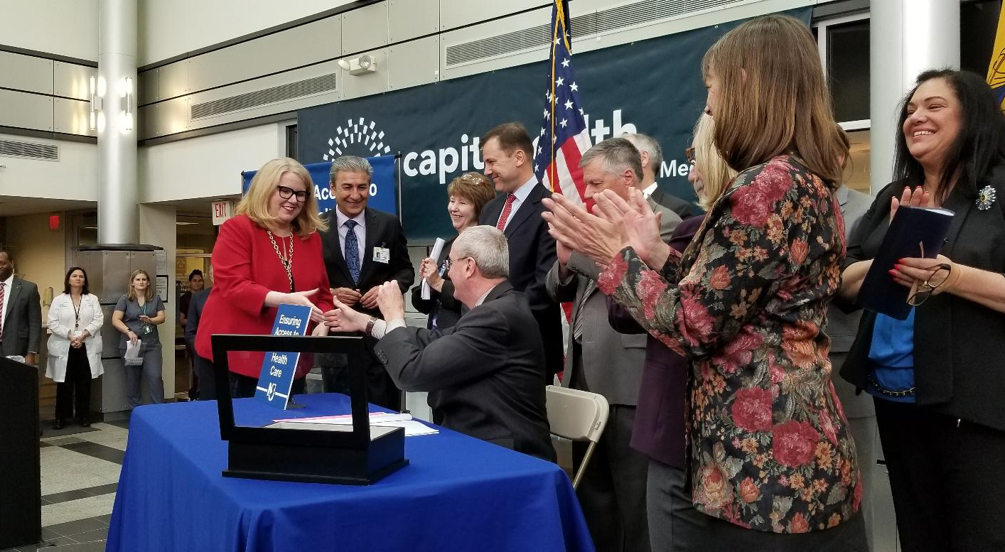Governor Murphy Signs Mental Health Parity Legislation