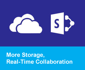 More Storage, Real-Time Collaboration