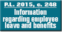 P.L. 2015, c. 248 Information regarding employee leave and benefits