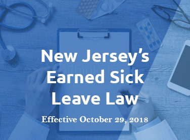 All NJ employers must comply with the earned sick leave law