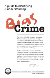 A Guide to Identifying & Understanding Bias Crime