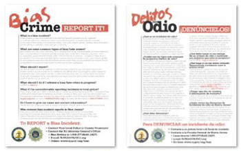 Report Bias Crime Flier