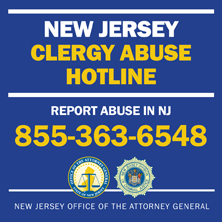 New NJ Clergy Abuse Hotline: 855-363-6548