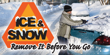 Ice & Snow - Remove It Before You Go