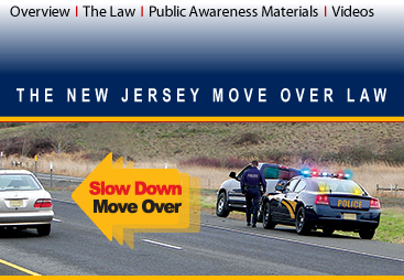 Move Over Law - NJ <-- slow down & move over