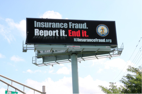 NJ Office of The Insurance Fraud Prosecutor Statewide Public Awareness Campaign
