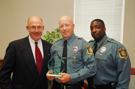from left to right howard l beyer executive director new jersey juvenile justice