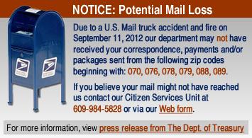 Mail Loss