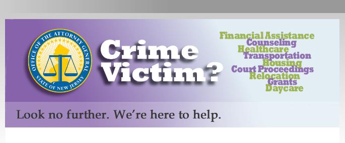Victim Services landing page