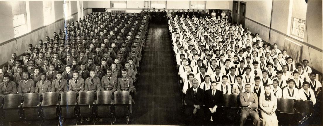segregated schools 1950s - 1103×432
