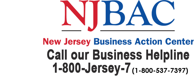 BAC Logo and helpline phone number 1-800-JERSEY-7