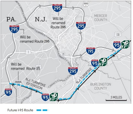 I95/295 Signing Redesignation Project Overview on i-95 northeast corridor map, major deegan map, interstate 95 in rhode island map, interstate 91 map, miami i-95 map, i-95 highway map, george washington bridge new york map, southern ct map, i-95 philadelphia map, interstate i-95 map,