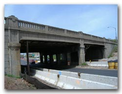 Route 1&9 bridge over Route 35 photo