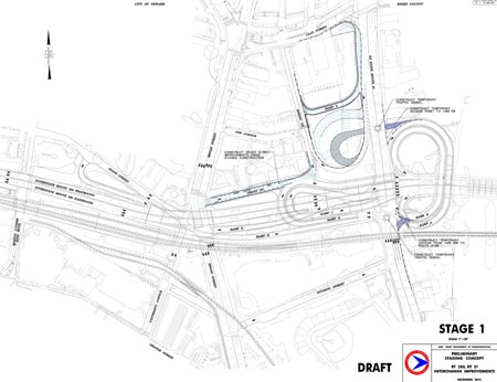 Route 280 Route 21 Interchange Improvements Preliminary Staging